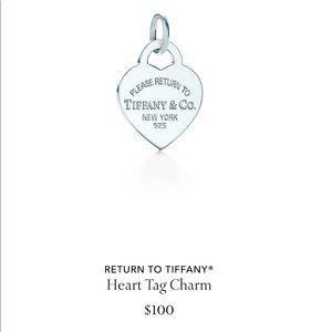 Tiffany & Co medium heart charm